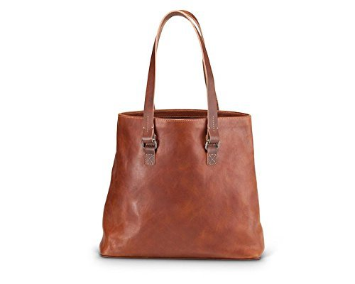 Brothers Leather Supply Co. Genuine Leather The Norma Tote by Brothers Leather Supply Co.