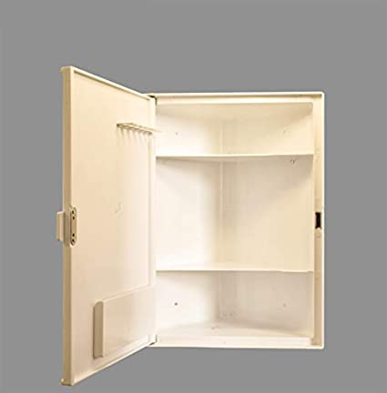 Charlie Bathroom Corner Cabinet With Storage 3 Shelves And Mirrors Model Grace Ivory Amazon In Electronics