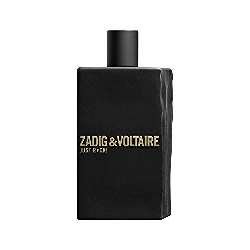 Zadig et Voltaire Just Rock For Him Pour Lui Eau De Toilette 3.3 Ounce 100 Milliliter