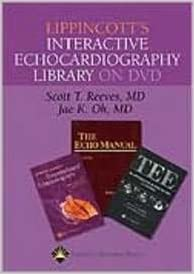Lippincott's Interactive Echocardiography Library on DVD