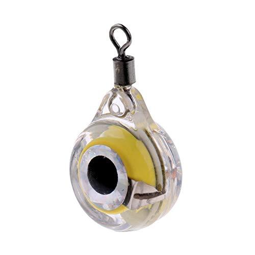 MacRoog Fishing Light Deep Drop LED Fishing Lures Underwater Fishing Tackle Eye Shape ()