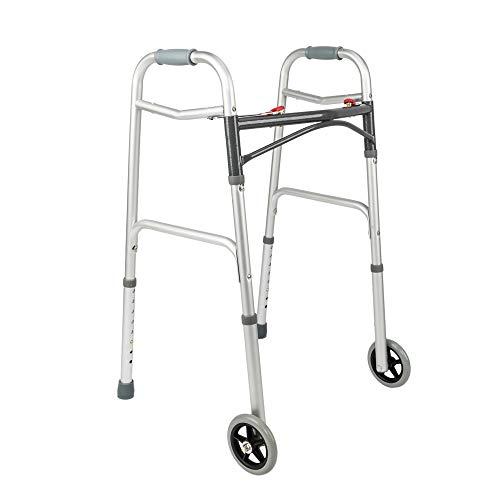 Arc Exhaust (HOBBYN Walker, Foldable Arc H Rod with Wheels Walker Medical Grade Compact Travel Folding Walker with Rollator Wheels)