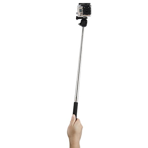 Floureon Selfie Stick Extendable Telescopic Handheld Pole Arm Monopod Remote View with...