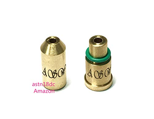 Dual Gas Refill Adapters for ST Dupont Lighter Line 1/2 Red/Green Cap