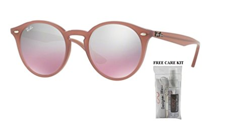 Ray Ban RB2180 62297E 49M Opal Antique Pink/Pink Mirror Silver