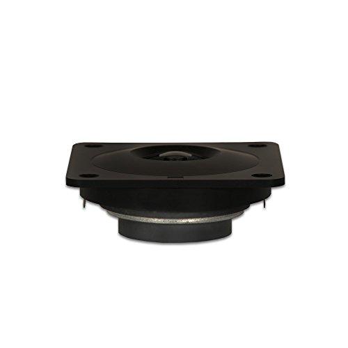 Mylar Tweeter - Goldwood Sound 80 Watts 8ohm Shielded Mylar Dome Speaker Tweeter Black (GT-310/S)