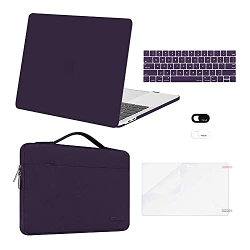combo de accesorios Macbook Pro 13 A2338 A2289 A2251 purpura