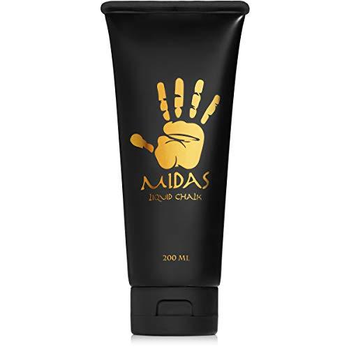 MIDAS Liquid Chalk - Grip for Rock Climbing, Cross Fit, Gymnastics, and Powerlifting (200ml) ()