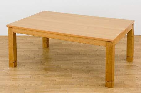 【激安アウトレット!】 継脚式モダンコタツ 105x75cm SCK-1050T こたつテーブル 105x75cm センターテーブル (ナチュラル) こたつテーブル ナチュラル ナチュラル B07JFSW3L1, BELLE MONDE:8d2e2d0f --- arianechie.dominiotemporario.com