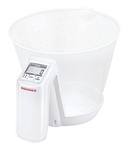 Soehnle Baking Star Digital Kitchen Scale, White