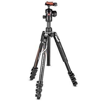 Manfrotto Befree Advanced Travel Tripod & Ball Head for Sony Alpha Lever ()