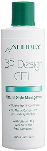Обри Organics дизайна волос Гель B5 All-Natural - 8 унций