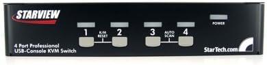 KVM StarTech.com SV431DUSBU Keyboard Video Mouse Switch Box