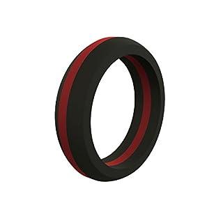 Qalo womens thin silicone wedding ring DoityourselfStore