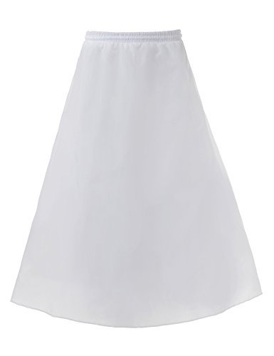 (Remedios Kids Petticoat Crinoline for Flower Girl Wedding Underskirt Slip White Skirt)