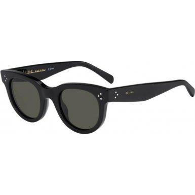 celine-sunglasses-41053-s-frame-black-lens-green