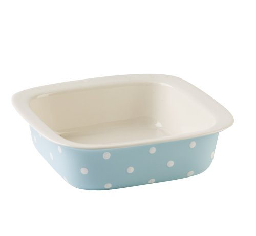 Spode Baking Days Blue Square Bake and Serve Dish