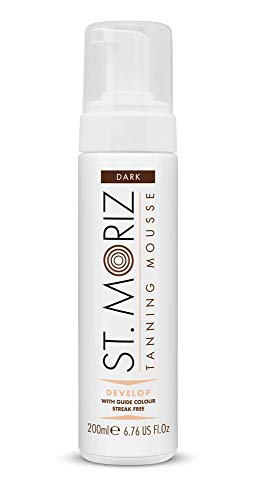 St Moriz Instant Self Tanning Mousse - Dark (200ml) (Dark - Tan Instant Mousse