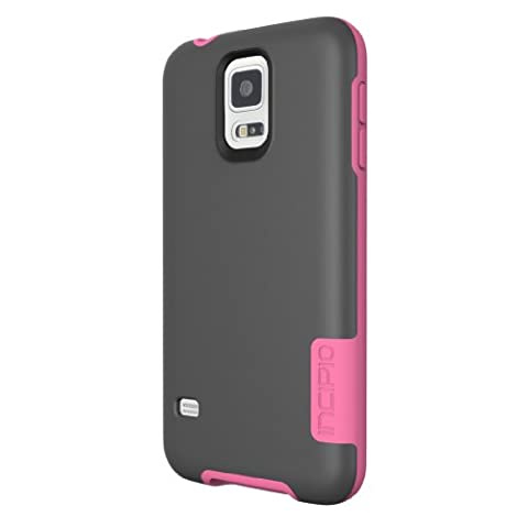 Incipio OVRMLD Case for Samsung Galaxy S5 - Retail Packaging - Gray/Pink (Incipio Phone Case For Galaxy S5)