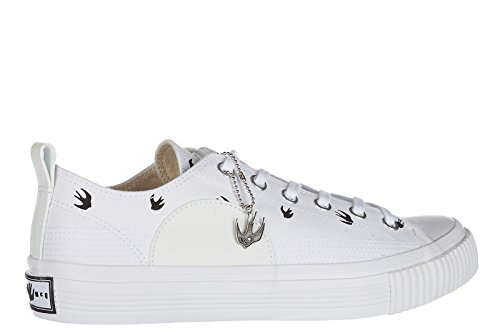MCQ Alexander McQueen Zapatos Zapatillas de Deporte Hombres EN Algodón Nuevo Mic