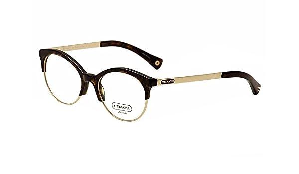 8630af1b9d6e Amazon.com: Coach Lourdes Eyeglasses HC5034 9131 Dark Tortoise Demo Lens 51  18 135: Shoes