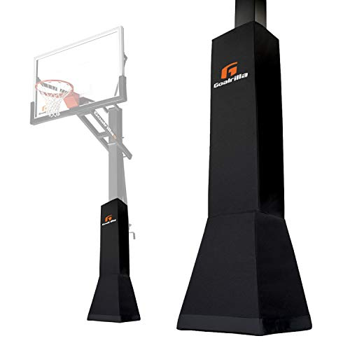 Goalrilla Deluxe Weatherproof Basketball Pole Pad for Ultimate Protection and Player Safety