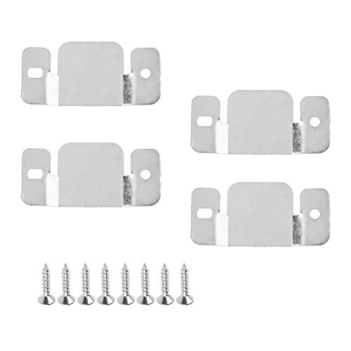 CM Cosmos Pack of 4 Universal Metal Sectional Sofa Interlocking Furniture Fastener Bracket Screws
