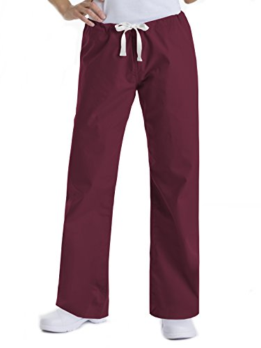Urbane Essentials 9502 Relaxed Drawstring Pant Wine S