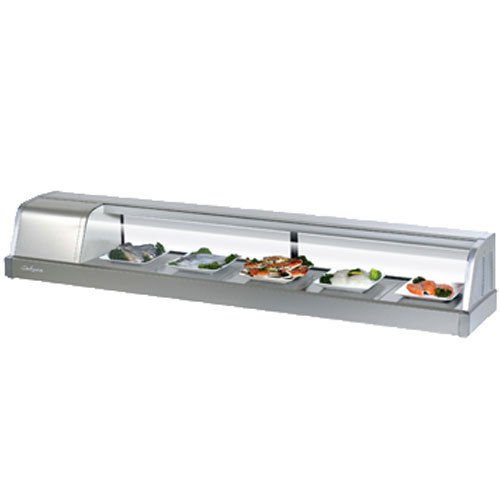 Turbo Sakura-70-L Refrigerated Sushi Display Case, Compressor on Left from Front ()