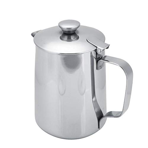 stainless pitcher lid - 8