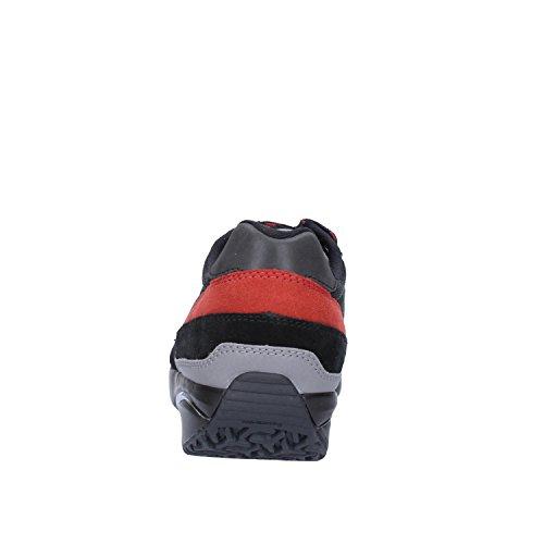 EU MBT Gamuza Textil Negro Naranja Sneakers 37 Mujer aaW4wqUFP