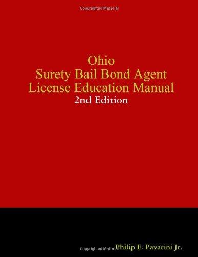 d Agent License Education Manual (Surety Bail Bonds)