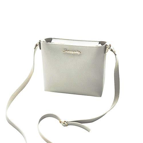 Fashion Handbag, Women Vintage Totes Purse Shoulder Bag Crossbody Bag Small Min Messenger Phone Coin Bag Gray