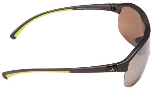 adidas Performance Sonnenbrille grau/gelb