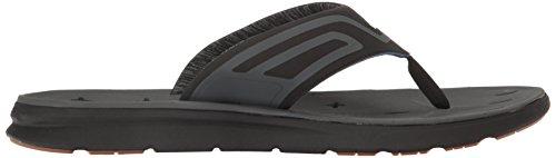 Quiksilver Mens Amphibian Plus Sandal Black/Black/Grey Kj4vEJZ