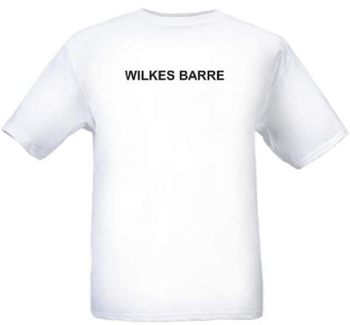 WILKES BARRE - City-series - White T-shirt - size Large]()