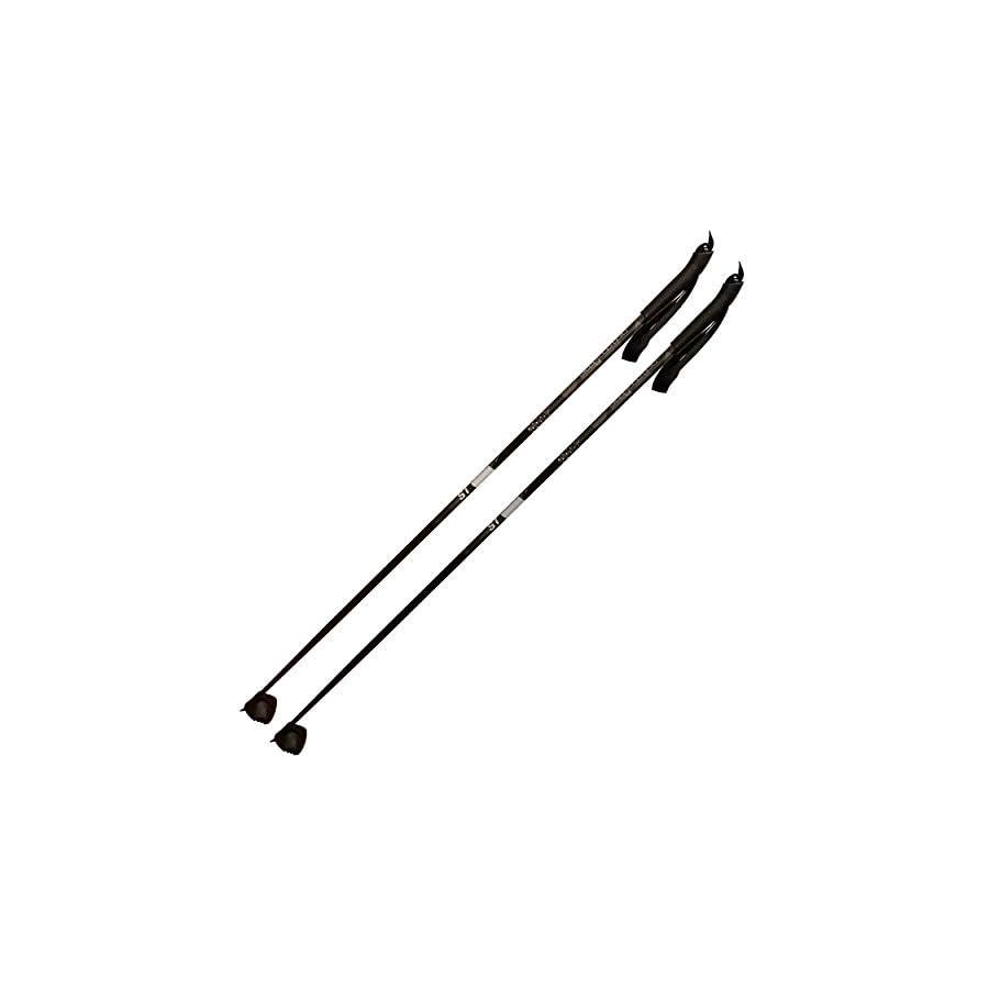 Alpina Sports St Junior Poles, Black, 100cm