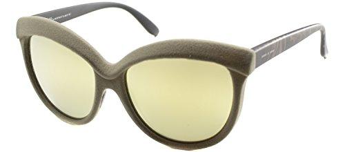 Italia Independent Women's 0092V Sand/Zebraffa - Sunglasses Italia Independent