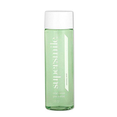 (Supersmile Oral Rinse Mouthwash - Clinically Formulated Mint Flavored Sugar Free Dental Mouthwash -  Fresh Breath - Anti-Germicidal - Alcohol-Free (16 Fl Oz) )