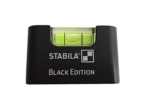 5 x Stabila Pocket Mini Wasserwaage Black Edition Magnet Magnetic