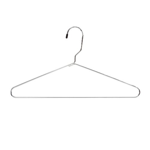 Safco Products 4245CR Metal Heavy-Duty Hangers, (12 each), Chrome