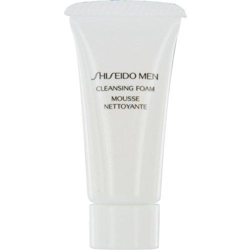 SHISEIDO by Shiseido Shiseido Men Cleansing Foam--7ml/.26oz sample size ( Package Of 3 )