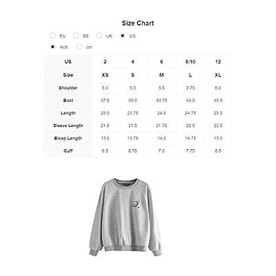 MAKEMECHIC Women's Casual Drawstring Gril Print Front Crop Hoodie Sweatshirt Top at Women's Clothing store