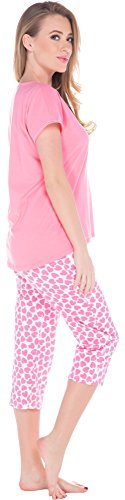 Italian Fashion IF Pijama para mujer Cupid 0225 Rosa/Rosa