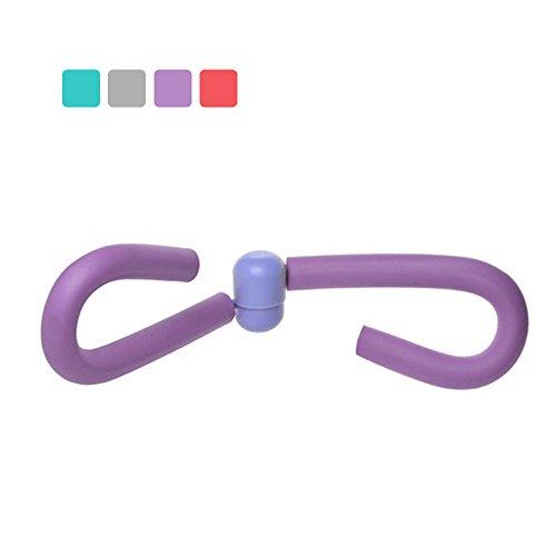 Tuban Thigh Toner & Butt, Leg, Arm Toner Thigh Trimmer Leg Exerciser Thigh Master Home Gym Equipment (Purple)