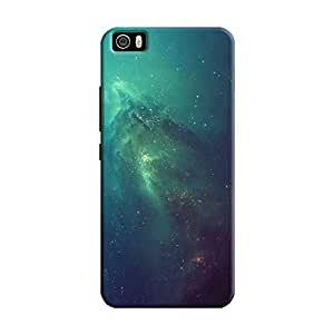 Cover It Up - Blue Space glow Mi5 Hard Case