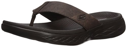 - Skechers Performance Men's on-the-Go 600-55352 Flip-Flop, chocolate, 9 M US