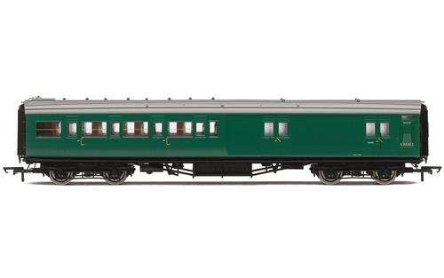 Hornby R4840 BR Ex SR Maunsell 4 Compartment Brake 2nd Class Coach'S3232S Multi ()