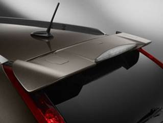JSP 368052 Honda CR-V Rear Spoiler Painted 2012-2015 Factory Style Tailgate Wing (Aspen White II Pearl (Rear Tailgate Wing)