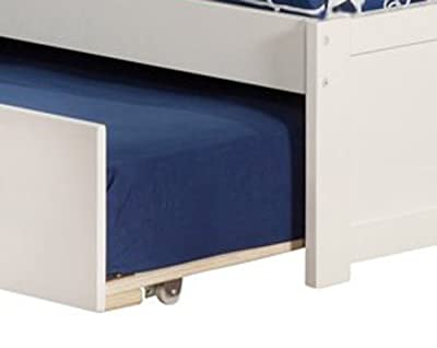 Atlantic Furniture Concord Flat Panel Foot Board with Urban Trundle Bed